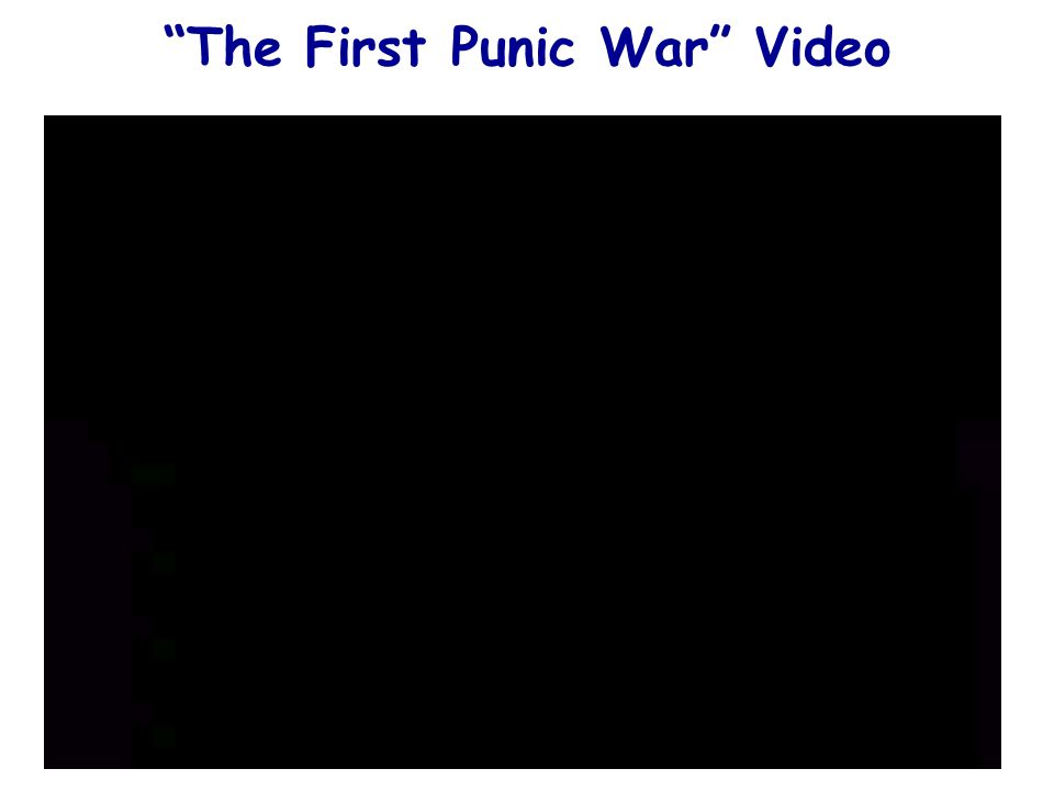 The First Punic War Video