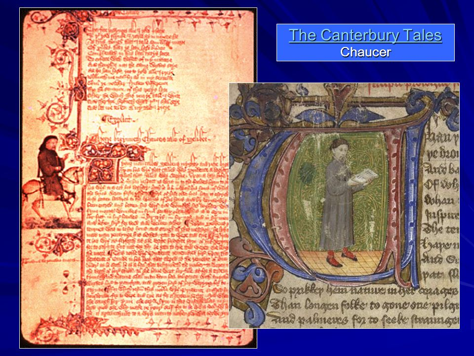 The Canterbury Tales The Canterbury Tales Chaucer The Canterbury Tales