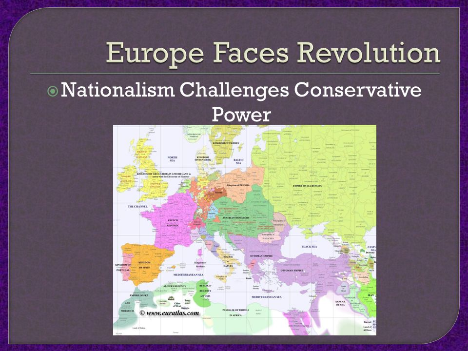  Nationalism Challenges Conservative Power