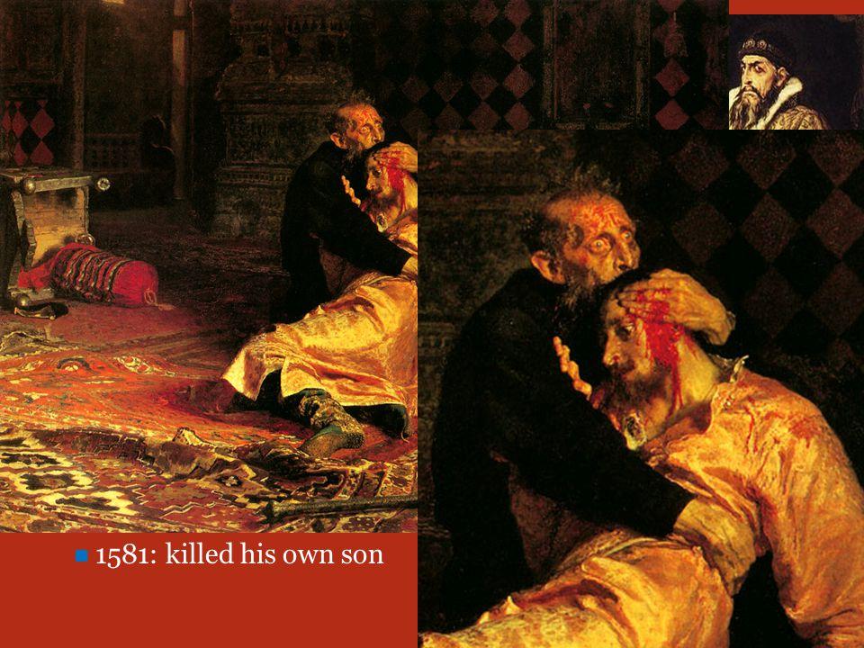 Ivan IV  TERRIBLE.