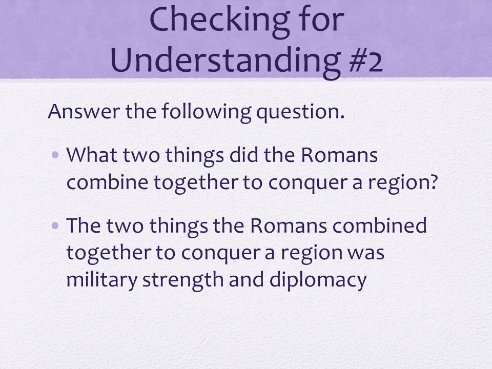 Checking for Understanding #1 Fill in the blank _______________ was the individual who launched the Second Punic War.