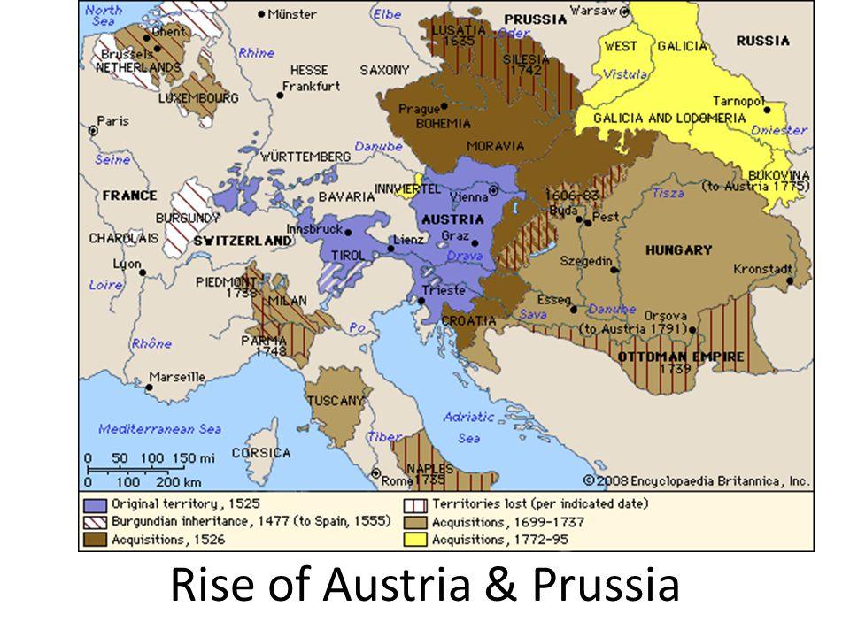 Rise of Austria & Prussia