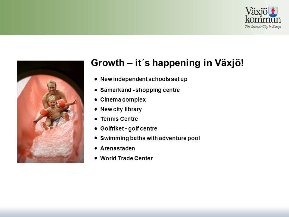 Growth – it´s happening in Växjö.