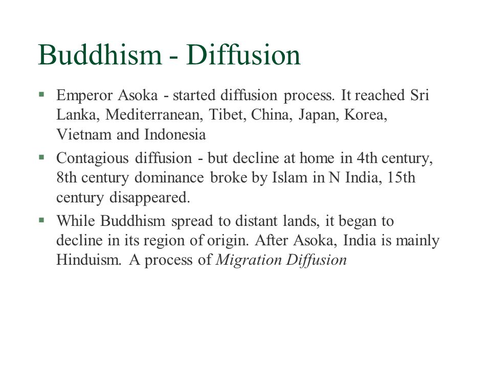 Buddhism §A protest to the Hinduism's strict social hierarchy that protected the privileged and kept majority in poverty (another protest - Jainism) §