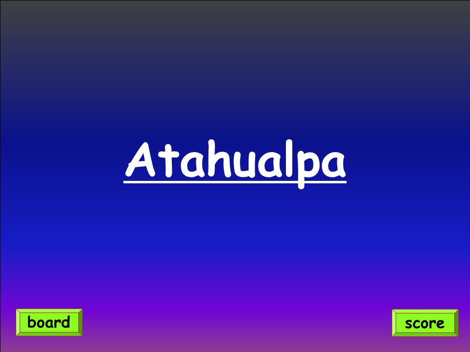 Atahualpa score board