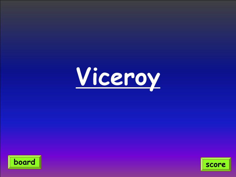 Viceroy score board