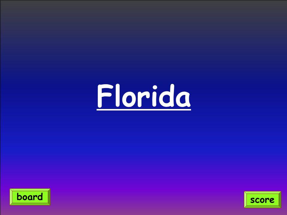 Florida score board