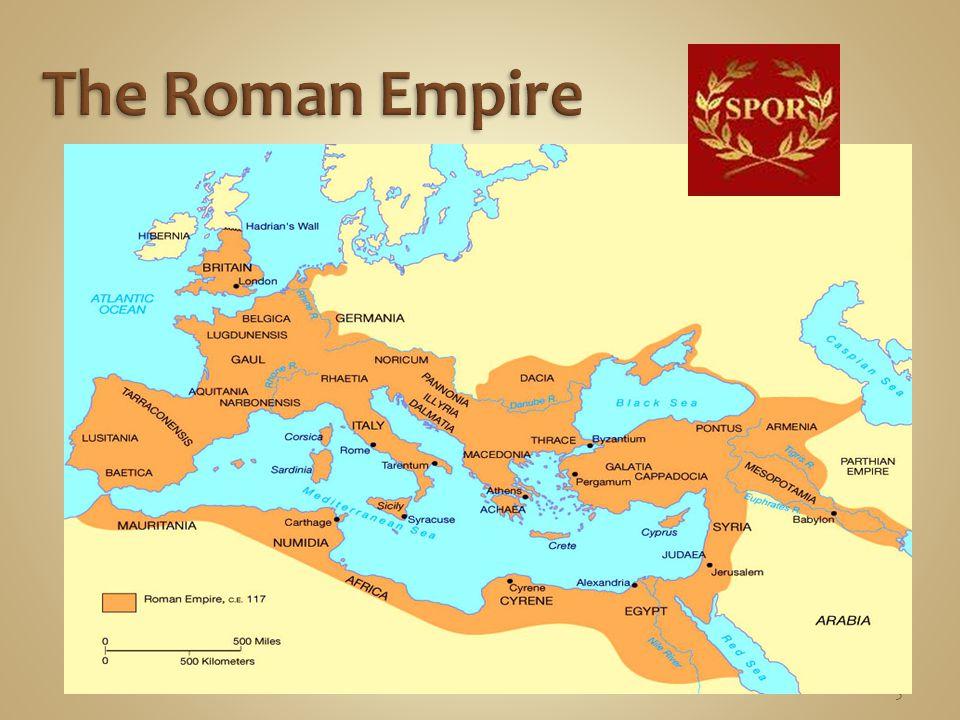 Roman Rulers  Julius Caesar – 60-44 BC  Caesar Augustus (Octavian) – 44 BC – 14 AD  Tiberius – 12-37 AD  Caligula – 37-41 AD  Claudius – 41-54 AD  Nero – 54-68 AD 6