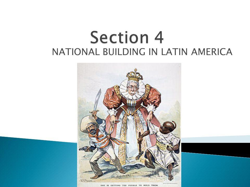 NATIONAL BUILDING IN LATIN AMERICA