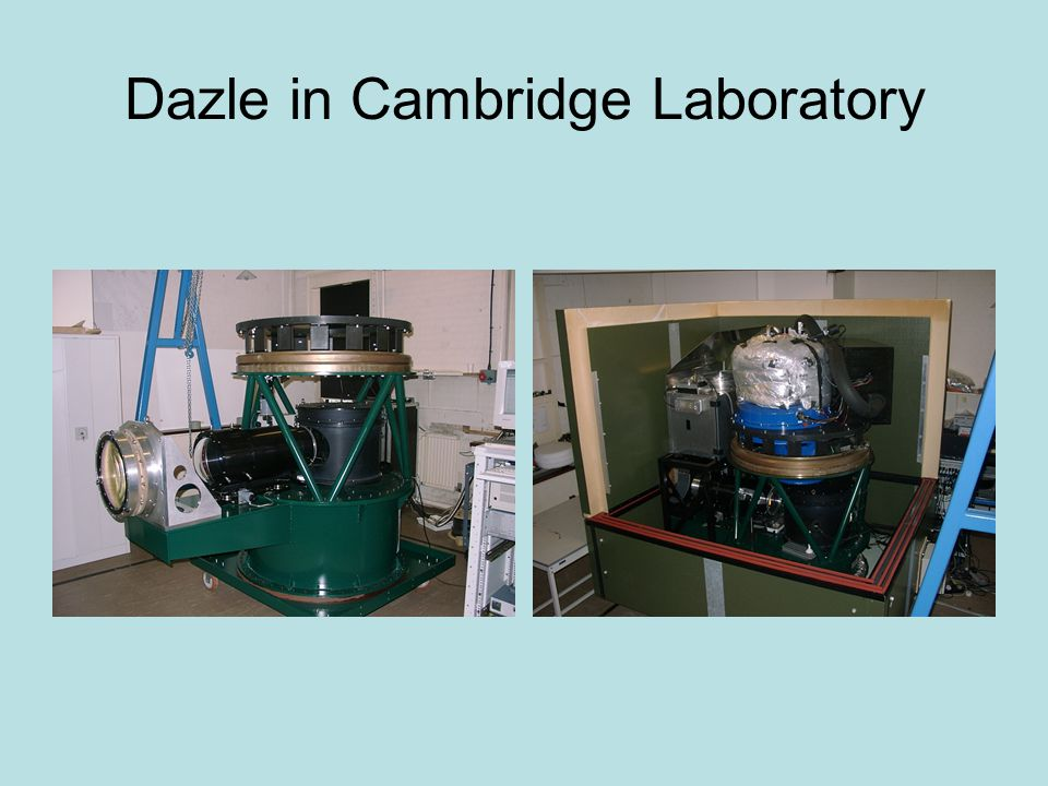 Dazle in Cambridge Laboratory
