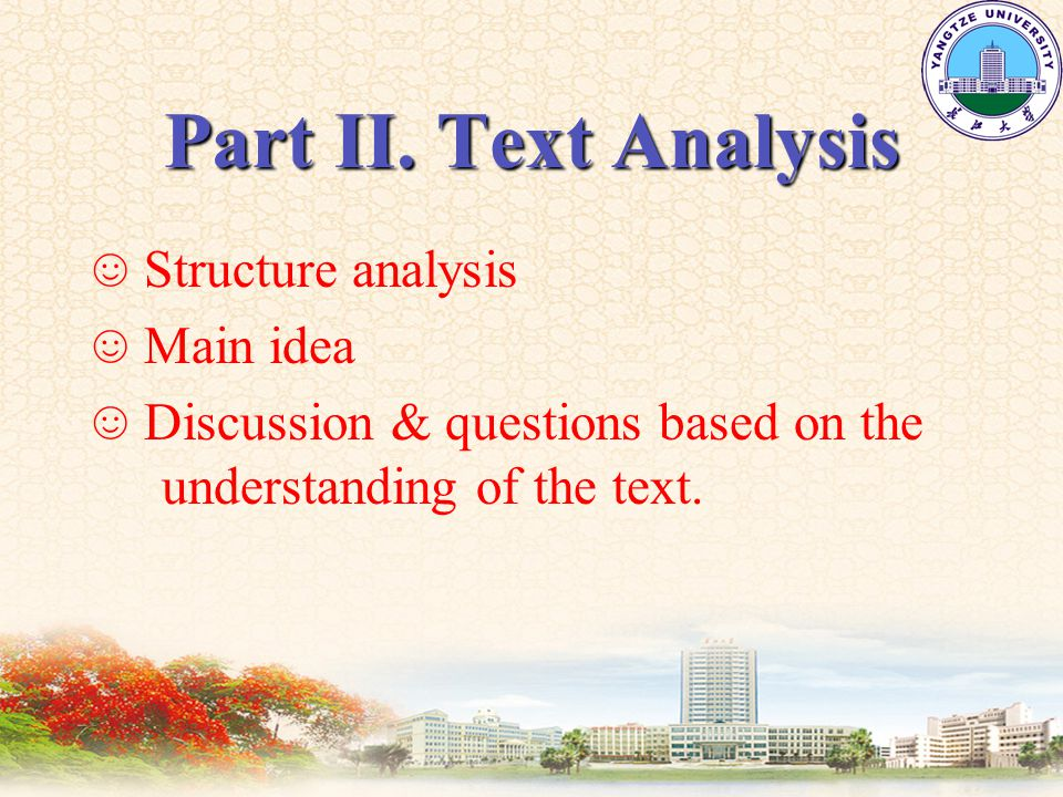 Part IV Text Appreciation LanguageLanguage Special features of oral EnglishSpecial features of oral English