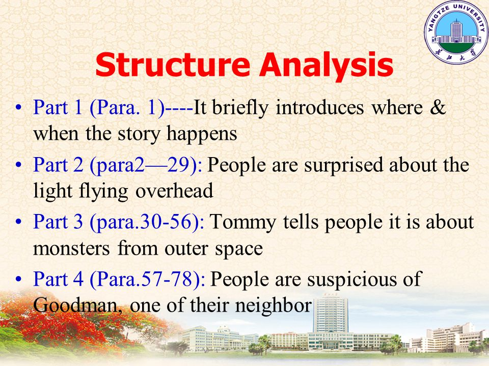 Structure Analysis Part 1 (Para.