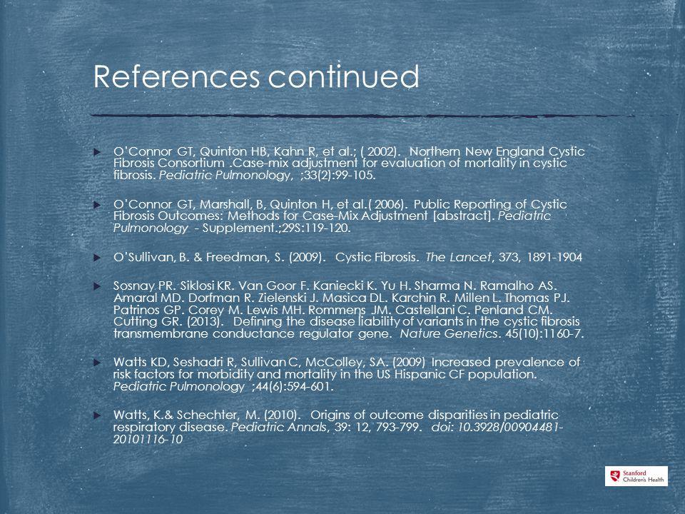  O'Connor GT, Quinton HB, Kahn R, et al.; ( 2002).