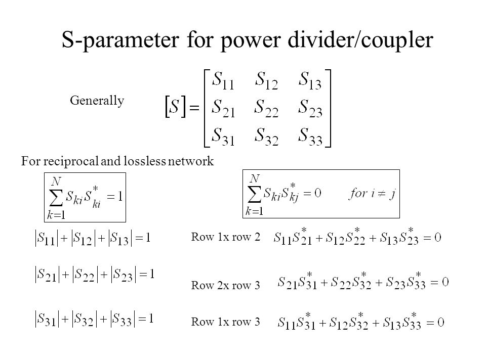 Couplers Lange Coupler Evolution of Lange coupler 1= input 2=output 3=coupling 4=isolated