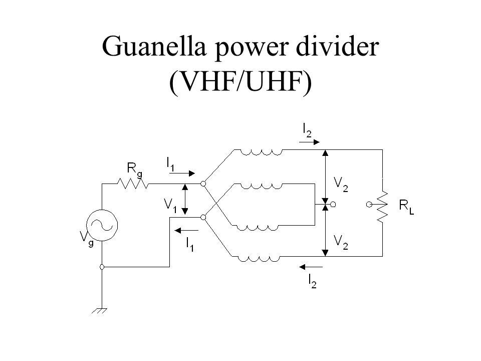Guanella power divider (VHF/UHF)