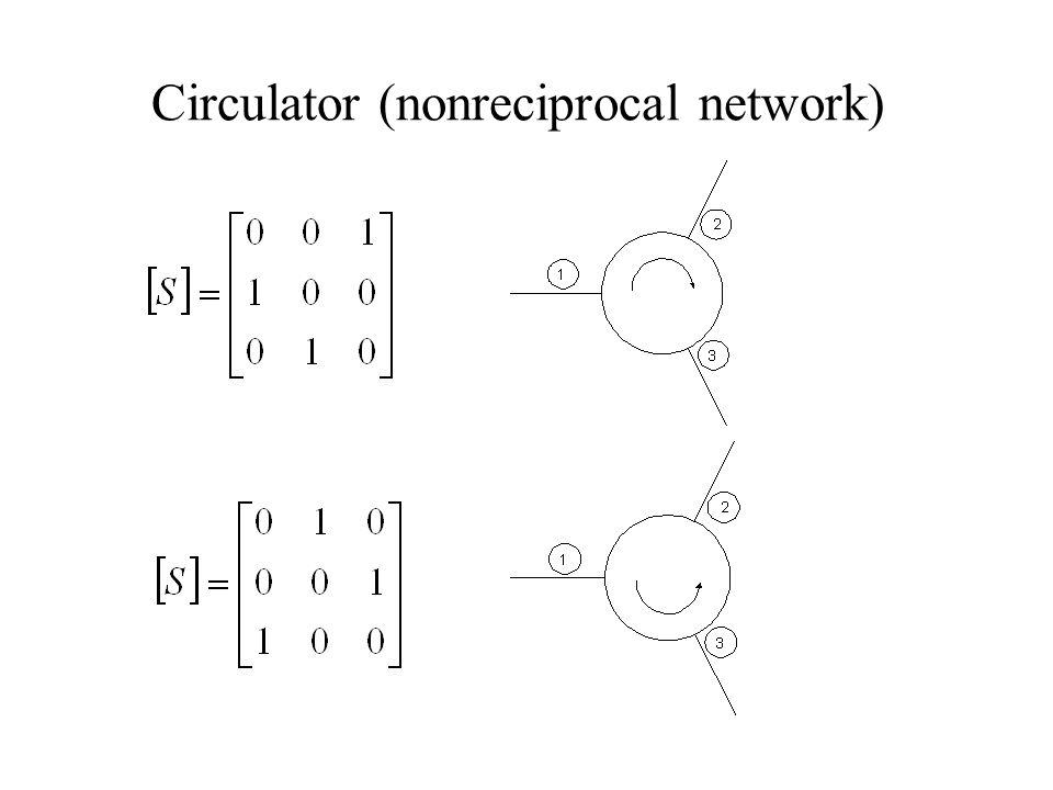 Circulator (nonreciprocal network)