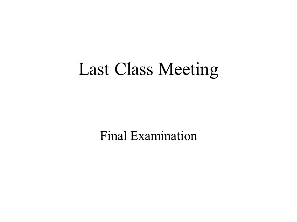 Final Exam Do the 7 questions as indicated from the list below.