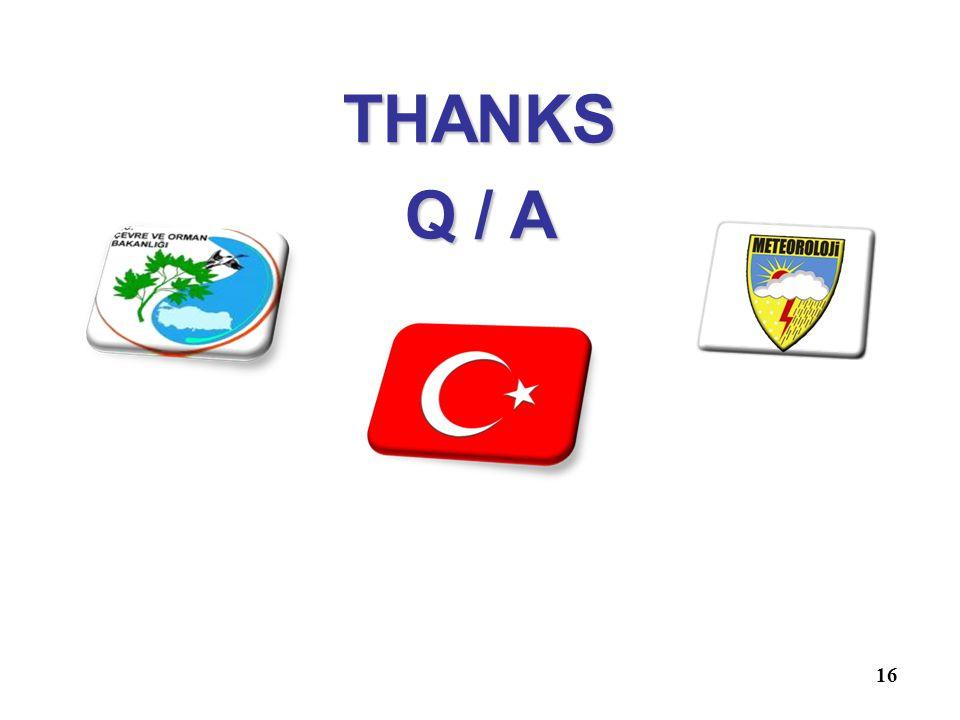16 THANKS Q / A
