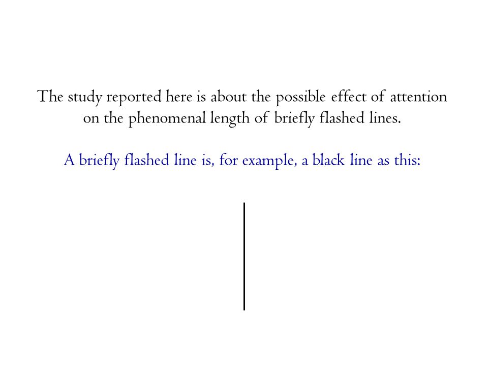The test line and the comparison line had a width of 1 pixel and a length of 50 mm.