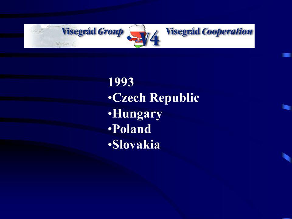 1993 Czech Republic Hungary Poland Slovakia