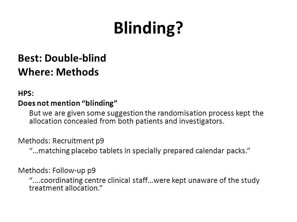 Blinding.