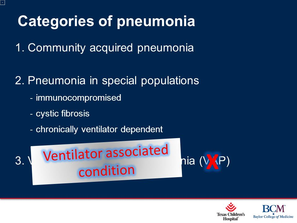 Page 2 xxx00.#####.ppt 5/9/2015 12:01:59 AM Categories of pneumonia 1.