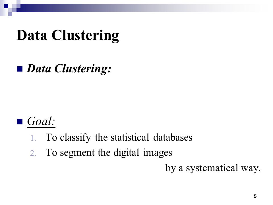 36 Partitional Clustering K-mean algorithm : 6. Data clustering completed N=3