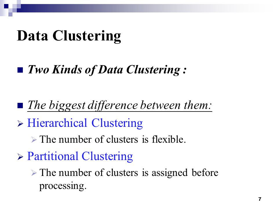 38 Partitional Clustering Drawbacks:  N is fixed: What is the best value of N.