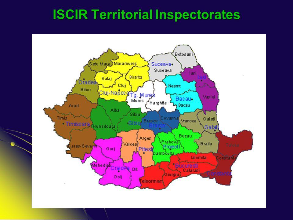 ISCIR Territorial Inspectorates