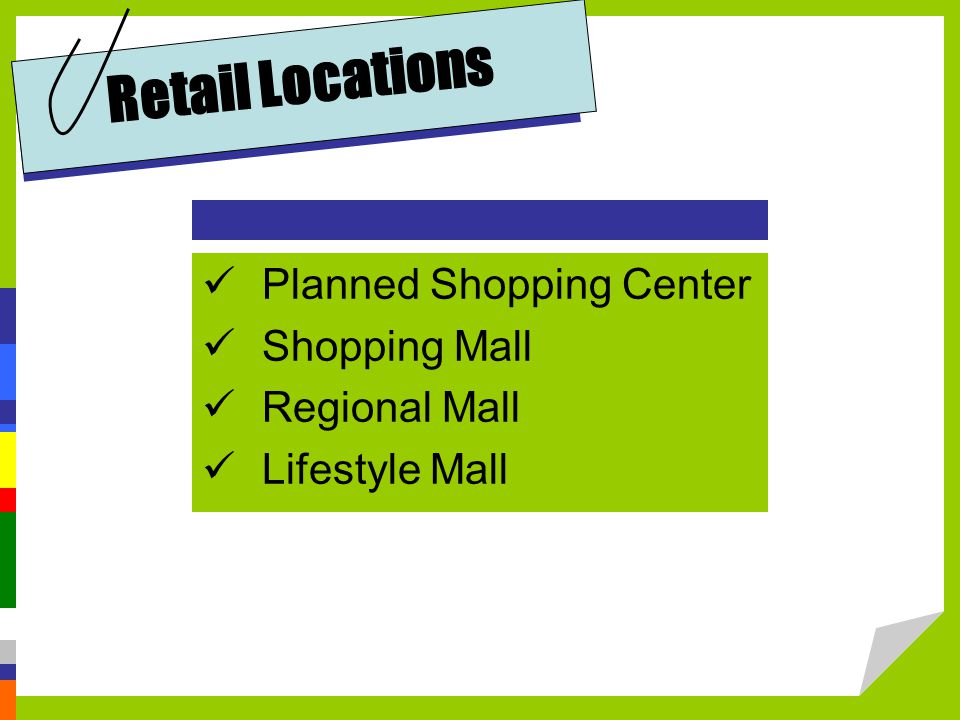 Retail Locations Planned Shopping Center Shopping Mall Regional Mall Lifestyle Mall