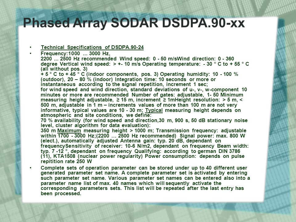 Technical Specifications of DSDPA.90-24 Frequency:1000...