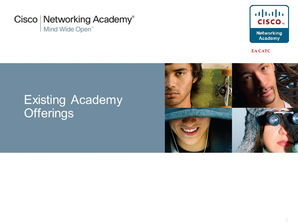 3 Existing Academy Offerings