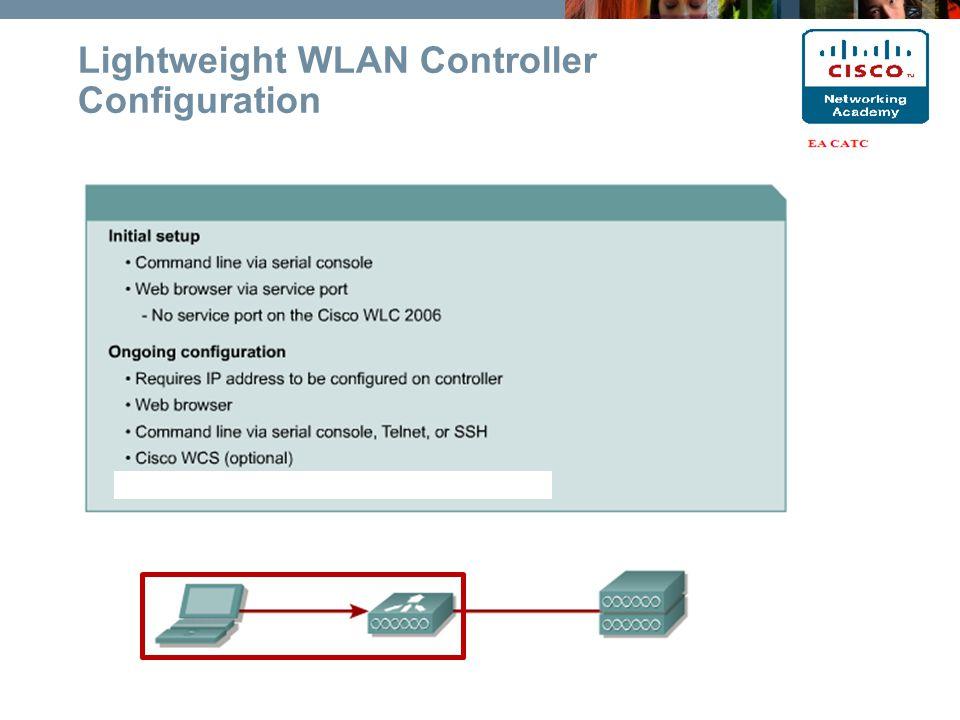 Lightweight WLAN Controller Configuration