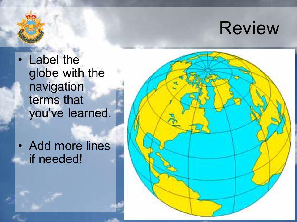 Review Rhumb line or great circle?