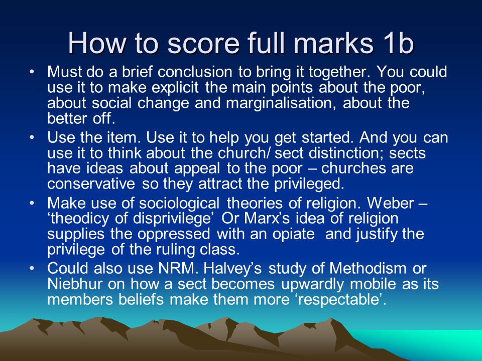 How to score full marks 1 (a) Don't go into too much detail about the features of one type of organisation that you forget to say how it differs from the other type.
