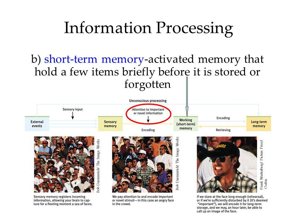 Storage: Retaining Information  Sensory Memory  Working/Short-term Memory  Long-Term Memory  Storing Memories in the Brain