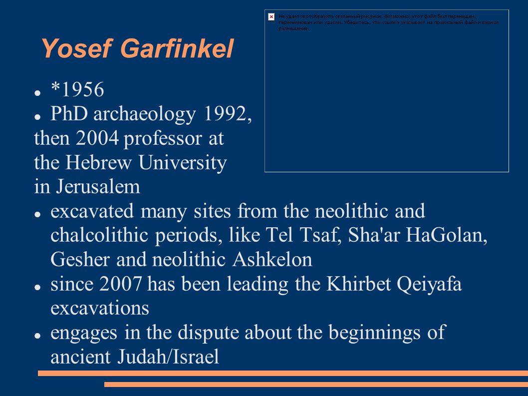 Why Khirbet Qeiyafa became important.