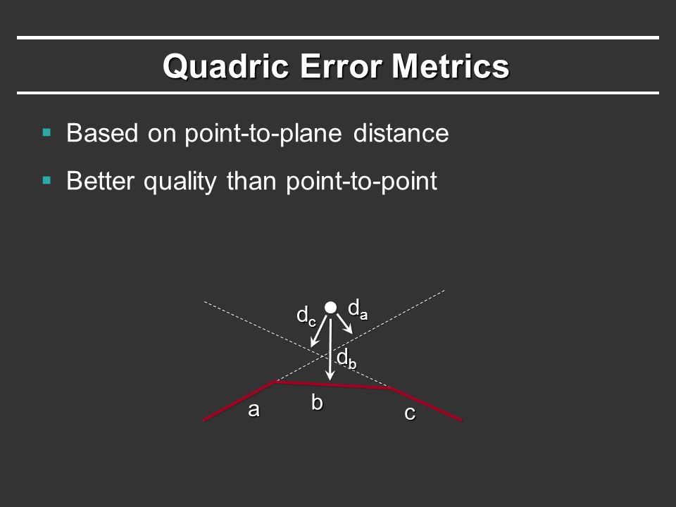 Mid-Point (t = ½ ?)