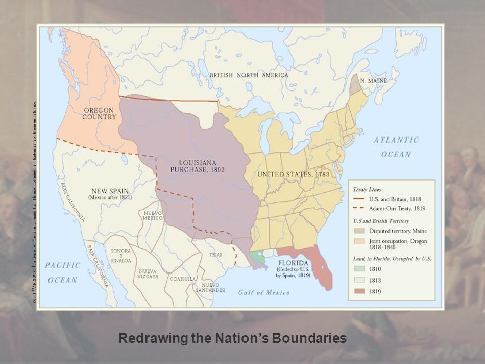 Redrawing the Nation's Boundaries ©2004 Wadsworth, a division of Thomson Learning, Inc. Thomson Learning ™ is a trademark used herein under license.