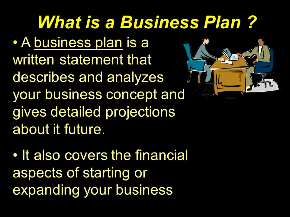 The Format of a Business Plan There are all kinds of help out there, use it.
