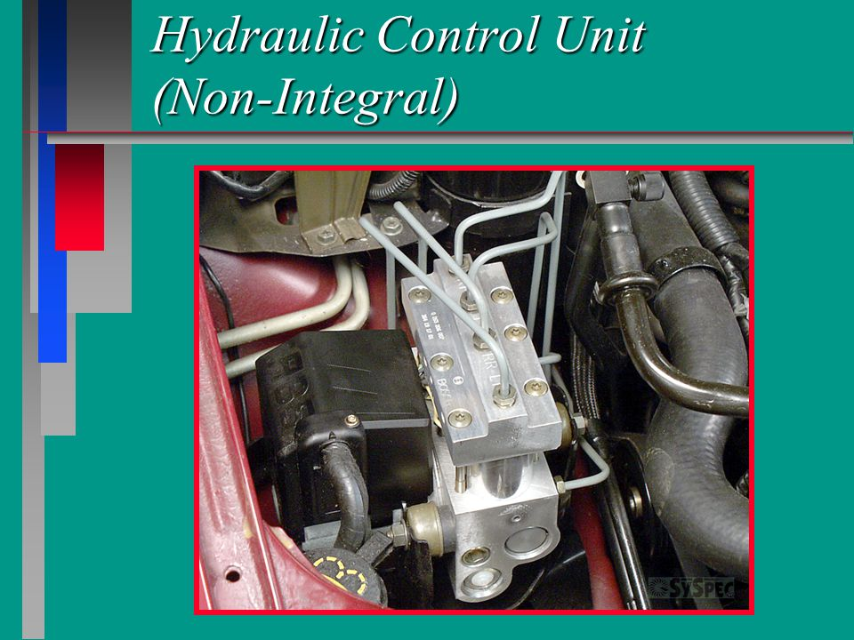 Hydraulic Control Unit (Non-Integral)