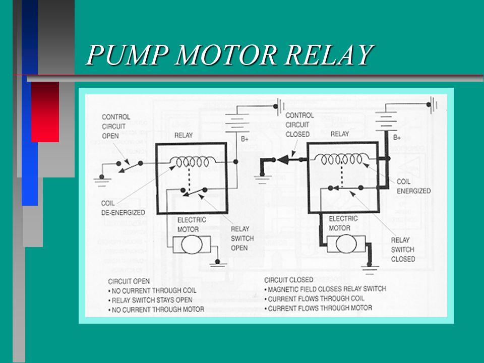PUMP MOTOR RELAY