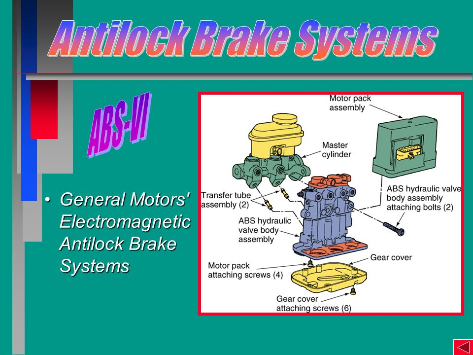 General Motors Electromagnetic Antilock Brake SystemsGeneral Motors Electromagnetic Antilock Brake Systems