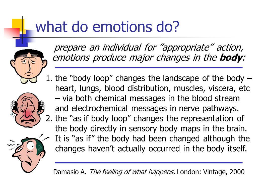 what do emotions do.