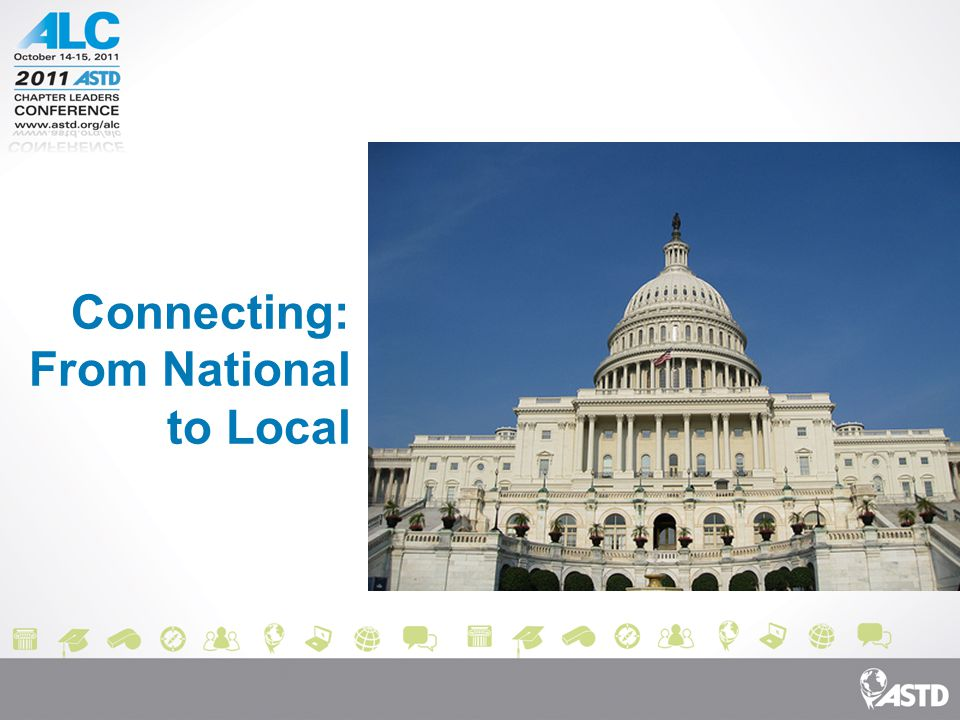Connecting: From National to Local