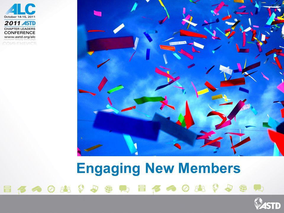 Engaging New Members