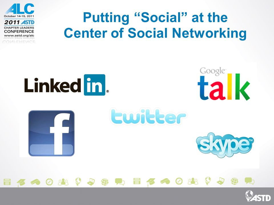 Putting Social at the Center of Social Networking
