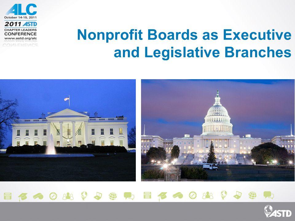 Nonprofit Boards as Executive and Legislative Branches