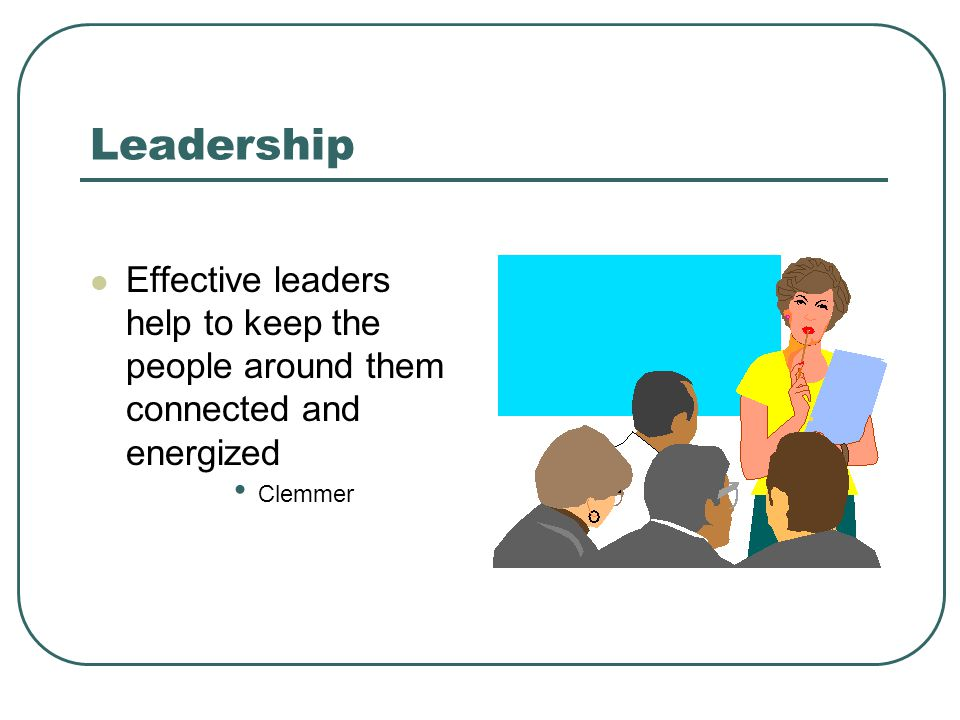 Leadership Leadership is a verb, not a noun.Leadership is action, not position.