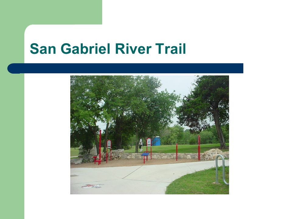 Ideas for Potential Trail Projects http://www.southwestern.edu/sgrtp/